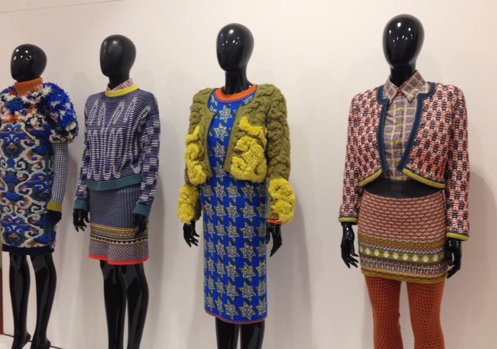 Nottingham Bonington gallery knitting exhibition - Shortrounds Knitwear