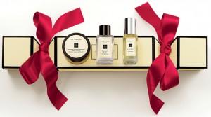 Christmas, gift, festive, seasonal, presents, christmas cracker, Jo Malone