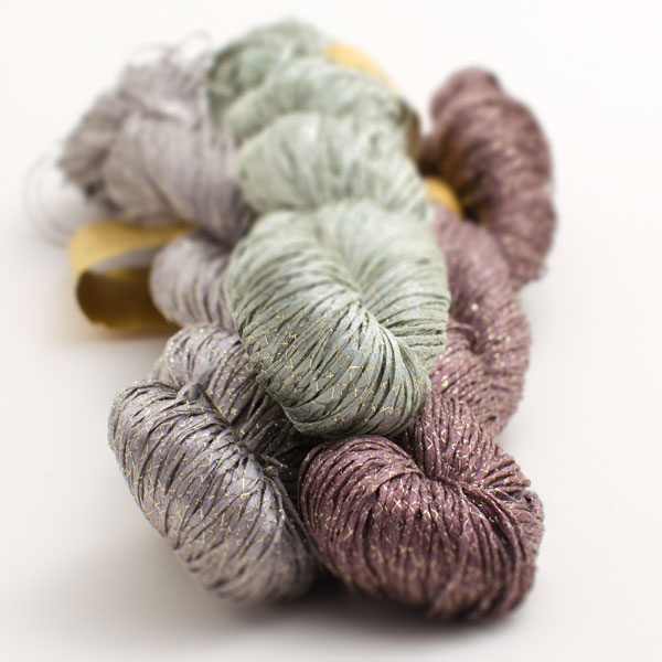 Alchemy Sparky pure silk yarn - Shortrounds Knitwear