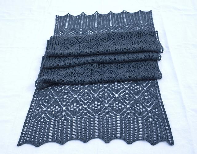 Morrison Wrap Virginia Sattler-Reimer - Shortrounds Knitwear