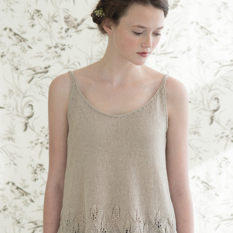 Quince & Co. Azalea vest top - Shortrounds Knitwear