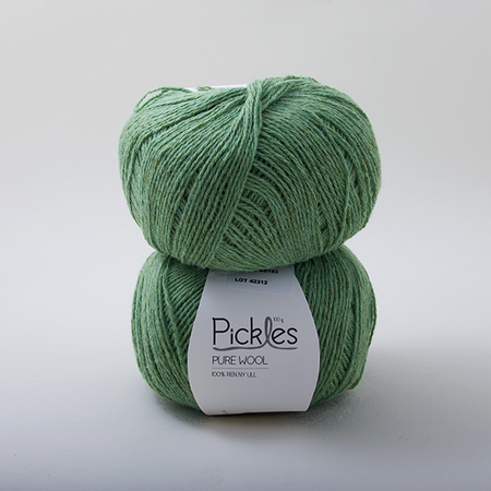 Pickles Pure Wool in Cardamom - Shortrounds Knitwear