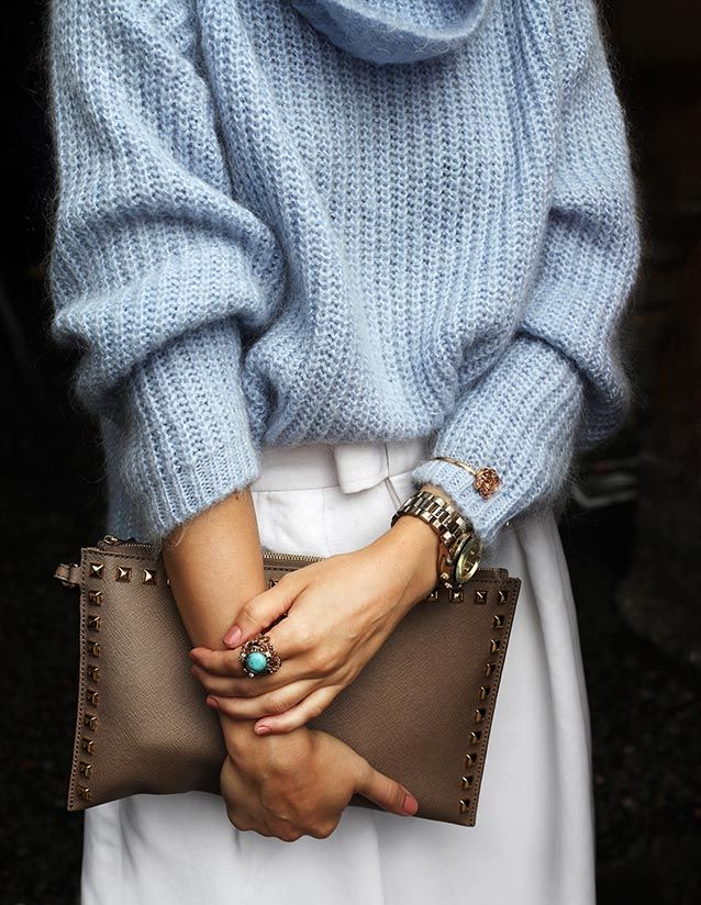 Pastel jumper - AW15 trends - Shortrounds Knitwear