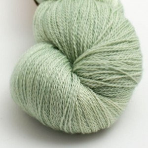 Eden Cottage Theseus Lace in Misty Woods - Shortrounds Knitwear