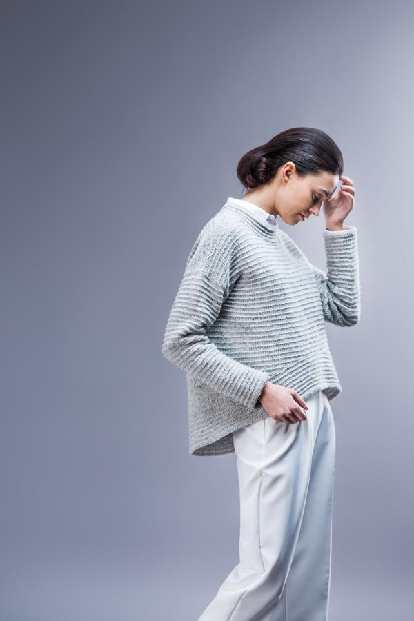 Brooklyn Tweed's Koto knitting pattern - Shortrounds Knitwear