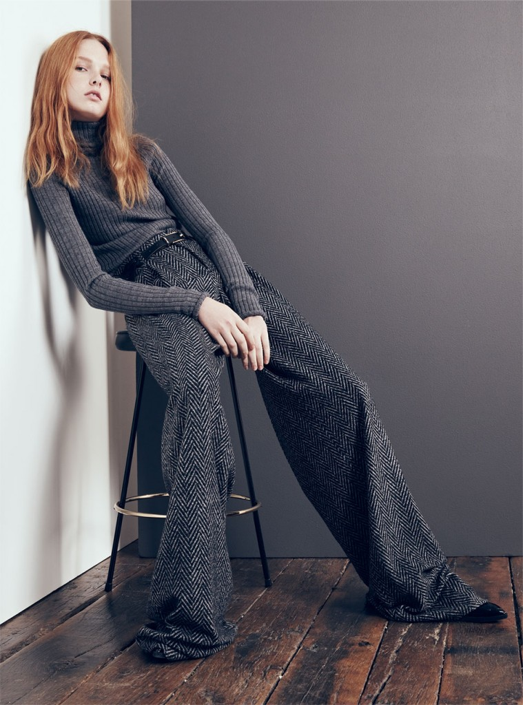 Zara fall report editorial - Shortrounds Knitwear