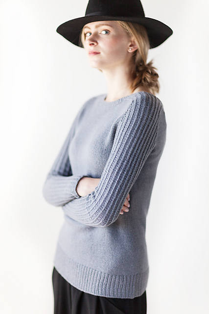 Ribbe sweater by Woolfolk - Shortrounds Knitwear