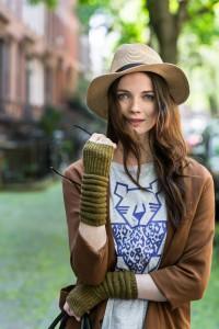 Tatara mitts by Olga Buraya-Kefelian for Brooklyn Tweed Capsule collection
