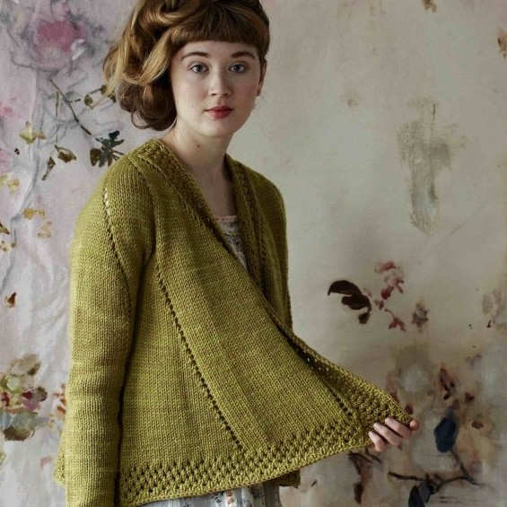 Teazel Cardigan by Bristol Ivy for Loop London | Shortrounds Knitwear