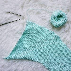 Fly Forward Shawl | Shortrounds Knitwear