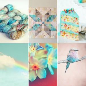 Hummingbird Moodboard Tanis Fiber Arts | Shortrounds Knitwear
