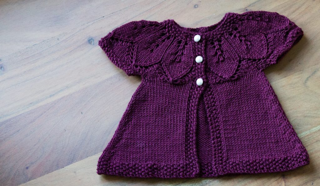 Autumn Leaves knitting pattern with Milla Mia Naturally Soft Merino | Shortrounds Knitwear