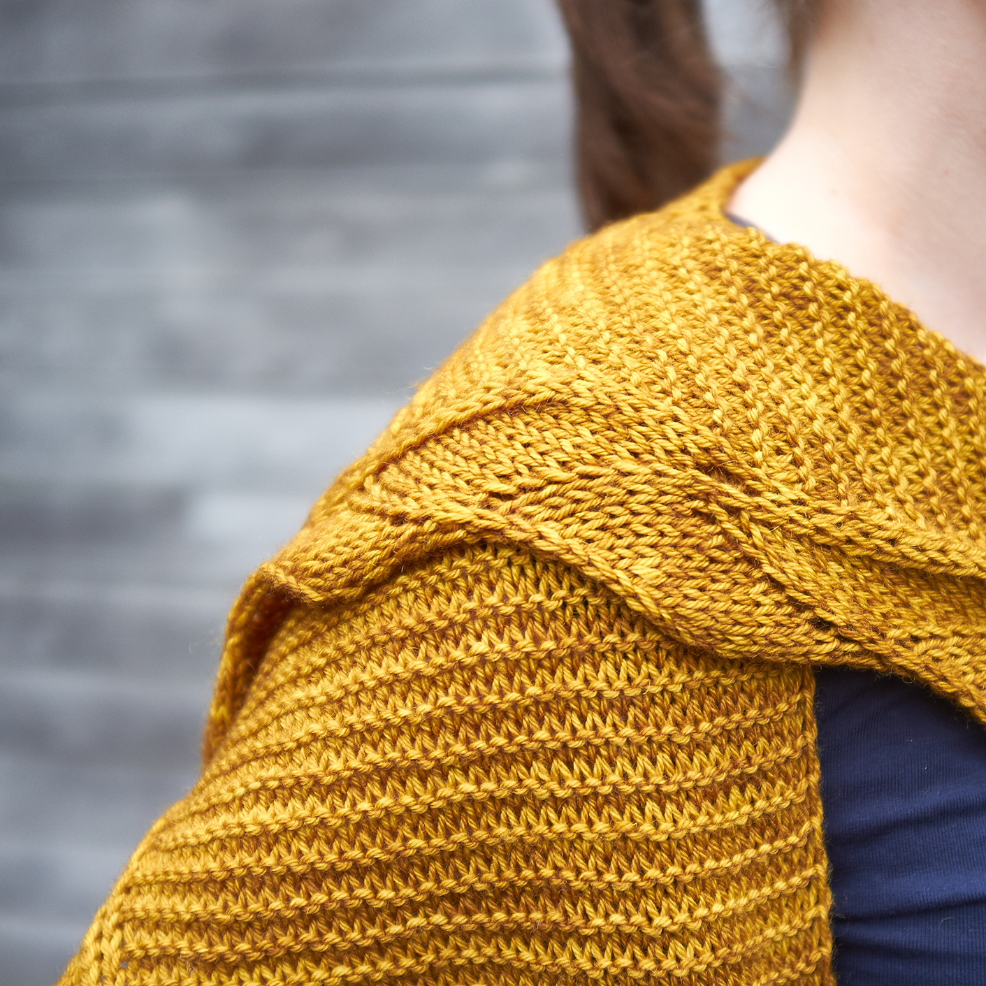 Curcuma detail | Shortrounds Knitwear