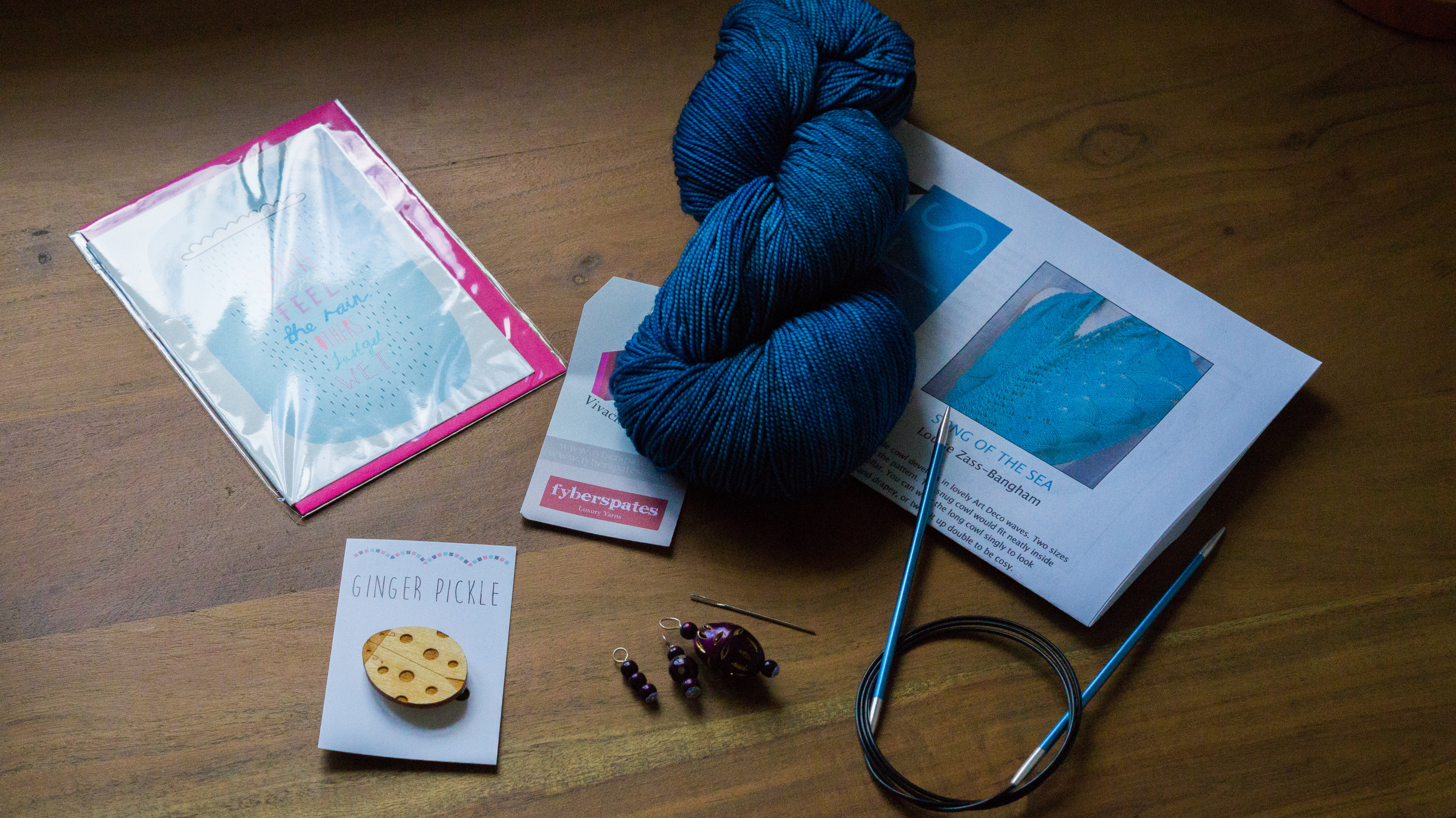Sonic Knits August Subscription Box | Shortrounds Knitwear