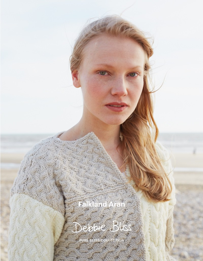 Debbie Bliss Falkland Aran Pure Bliss Collection | Shortrounds Knitwear