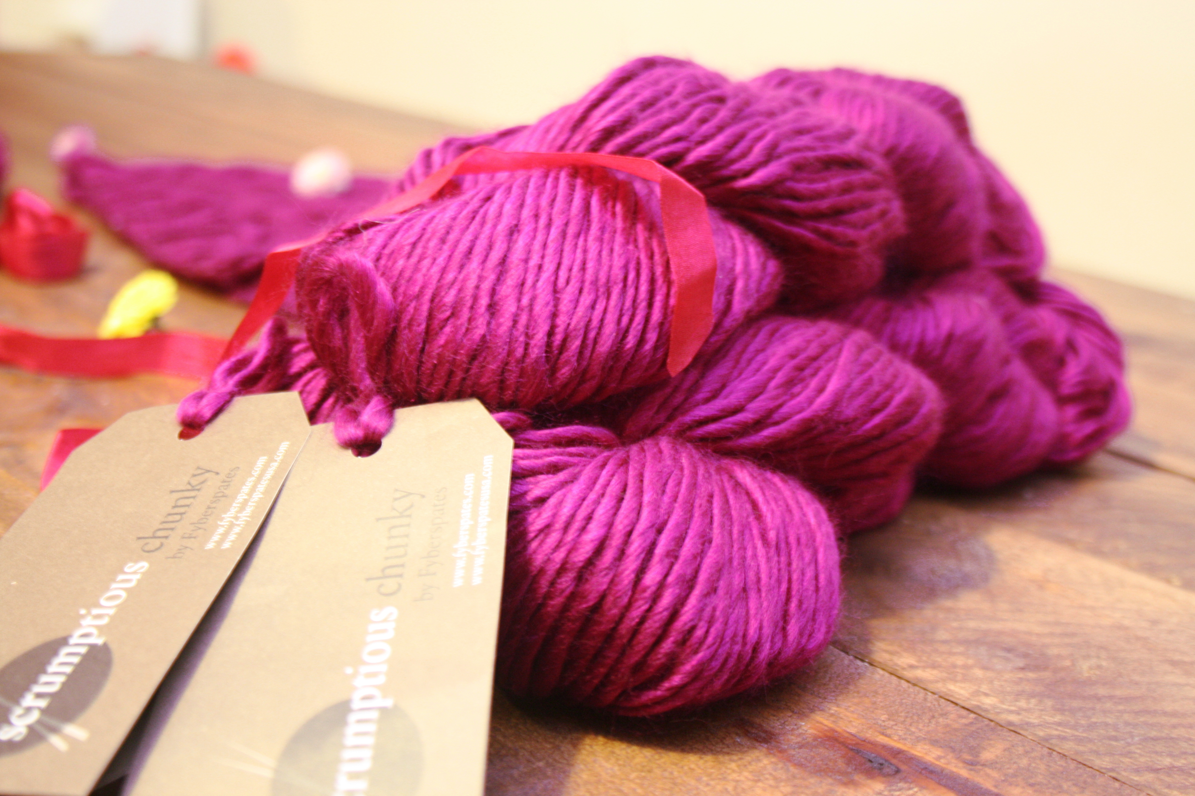 Fyberspates Scrumptious Chunky | Shortrounds Knitwear