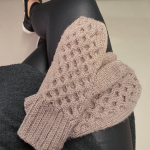 Knit Purl Hunter Winter Buzz Mittens #wearyourknits | Shortrounds Knitwear