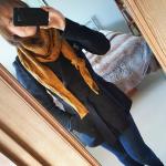 Curcuma Shawl #wearyourknits | Shortrounds Knitwear