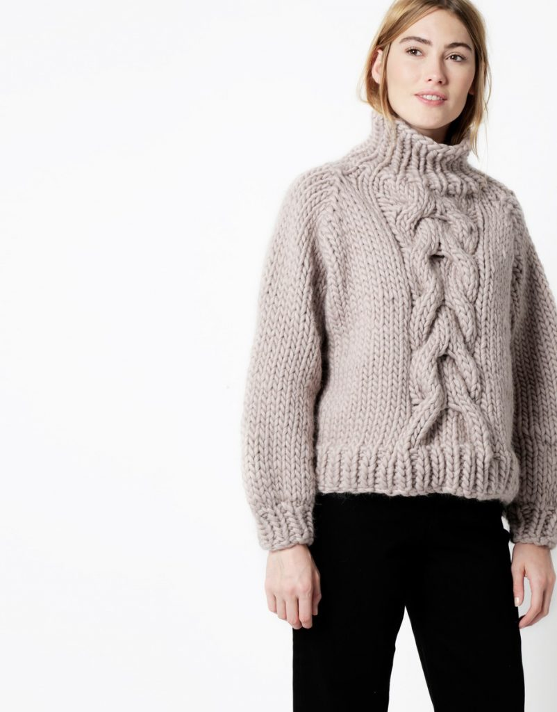 Cropped Cable WATG x I Love Mr Mittens | Shortrounds Knitwear