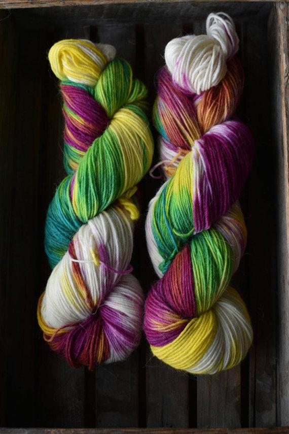 A Knit Away Sock in Hippie | Shortrounds Knitwear