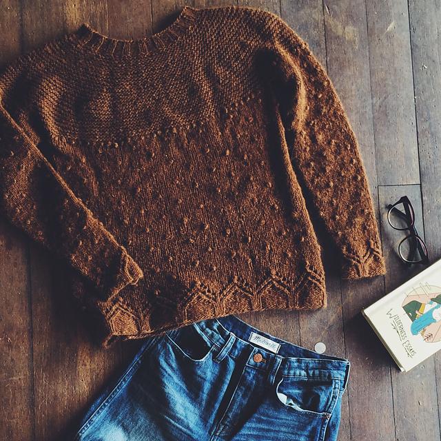 Boylandknitworks Little Cabin pullover | Shortrounds Knitwear
