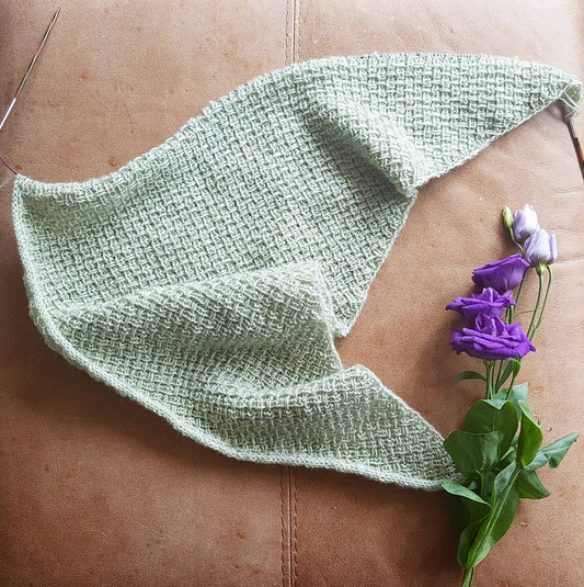 Hessian Shawl | Shortrounds Knitwear