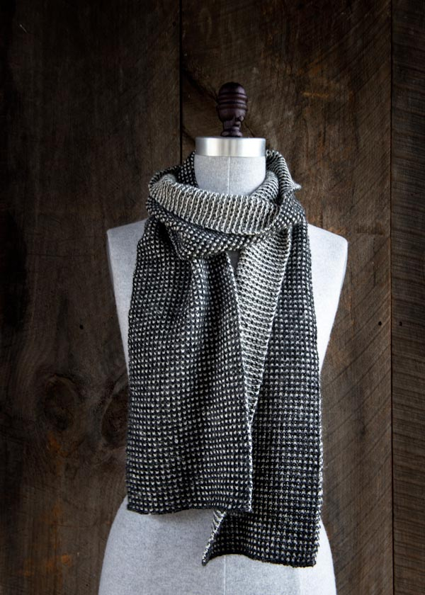 Purl Soho Speckled Scarf | Shortrounds Knitwear