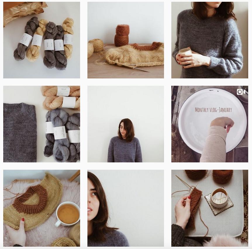 Gregoria Fibers Instagram - Shortrounds Knitwear