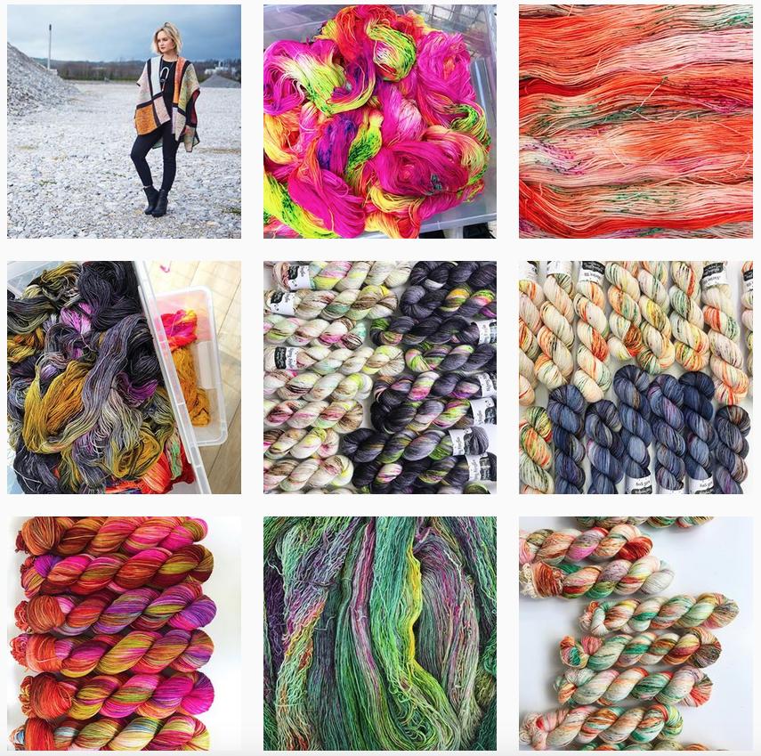 Hedgehog Fibres Instagram - Shortrounds Knitwear